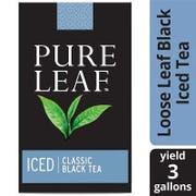 Pure Leaf Iced Loose Tea Pouch Black, 3 gallon, -- 32 per case.