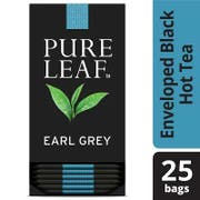 Pure Leaf Earl Grey Enveloped Hot Tea Bags, 25 count -- 6 per case