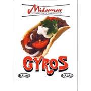 Devanco Halal Gyro Slices, 1 Pound -- 20 per case.