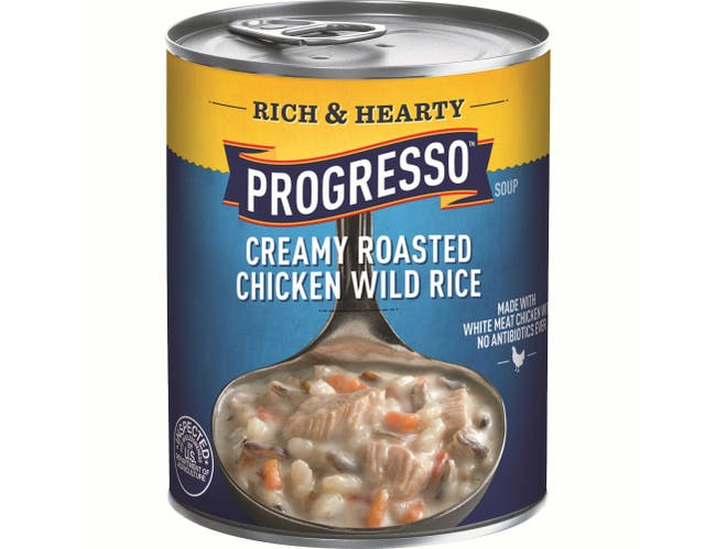 Progresso Rich and Hearty Roasted Chicken Wild Rice Soup, 18.5 Ounce -- 12 per case.