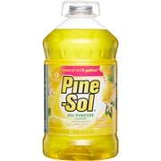 Clorox Commercial Solutions Pine Sol Lemon Fresh Cleaner, 144 Ounce -- 3 per case.