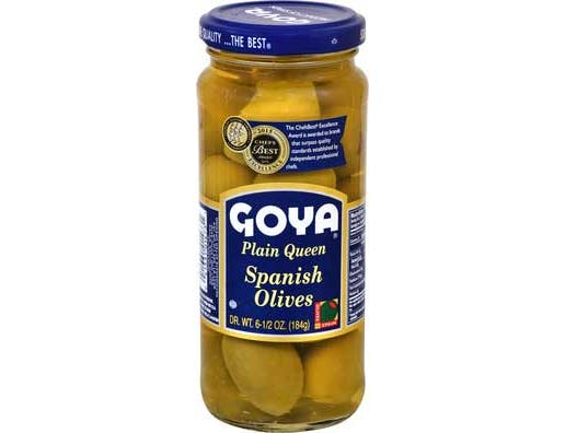 Goya Jumbo Olive, 6.5 Ounce -- 24 per case.