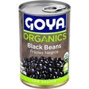 Goya Organic Black Beans, 15.5 Ounce -- 24 per case.
