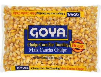Goya Chulpe Corn - 16 oz. bag,  24 bags per case