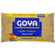 Goya Dry Lentils - 4 lb. bag, 6 bags per case