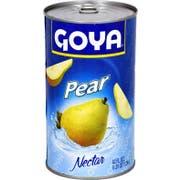 Goya Pear Nectar Juice, 42 Ounce -- 12 per case.