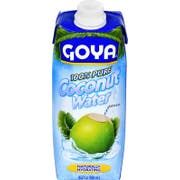 Goya 100 Percent Pure Coconut Water, 16.9 Ounce -- 24 per case.