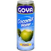 Goya Tall Coconut Water, 17.6 Ounce -- 24 per case.