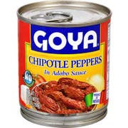 Goya Chipotle Peppers in Adobo Sauce - 7 oz. can, 12 cans per case