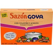 Goya Sazon with Coriander and Annatto - 3.52 oz. box, 18 per case