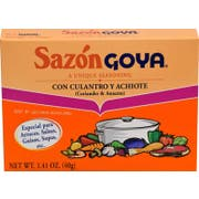 Goya Sazon with Coriander and Annatto - 1.41 oz. box, 36 per case