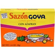 Goya Sazon con Azafran - 1.41 oz. box, 36 per case