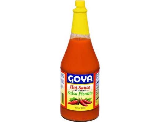 Goya Red Hot Sauce, 12 Ounce -- 12 per case.