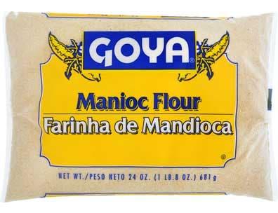 Goya Farinha Mandioca Flour, 24 Ounce -- 12 per case.