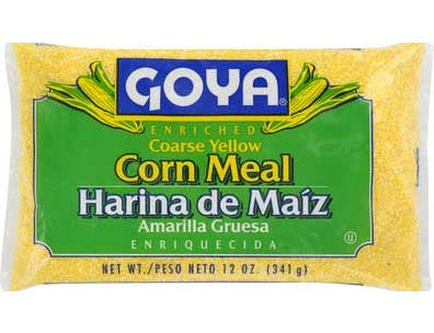 Goya Coarse Yellow Corn Meal, 12 Ounce -- 24 per case.