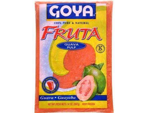 Goya Guava Fruit Pulp, 14 Ounce -- 12 per case.