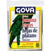 Goya Select Banana Leaf, 16 Ounce -- 15 per case.