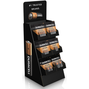 Duracell Alkaline Large Counter Primary Major Cells -- 36 per case.