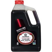 Kikkoman Preservative Free Gluten Free Tamari Soy Sauce, 0.5 Gallon -- 6 per case.