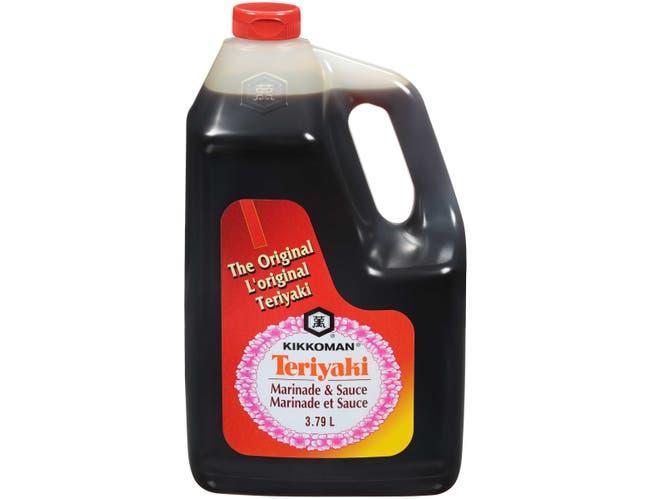 Kikkoman Teriyaki Marinade and Sauce, 1 Gallon -- 4 per case.