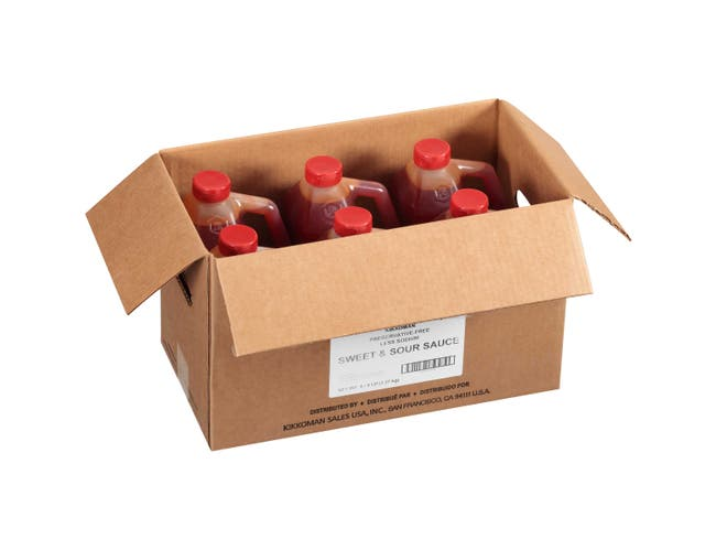 Kikkoman Low Sodium Sweet and Sour Sauce, 5 Pound -- 6 per case.