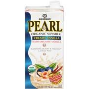 Kikkoman Pearl Organic Creamy Vanilla Soymilk, 32 Fluid Ounce -- 12 per case.