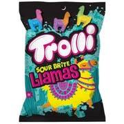 Trolli Sour Brite Llamas Gummi Candy, 4.25 Ounce -- 12 per case.