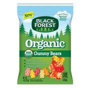 Black Forest Organic Gummy Bears, 4 Ounce Peg Bag -- 12 per case.