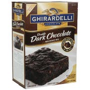 Continental Mills Ghirardelli Double Dark Chocolate Brownie Mix,120 Ounce -- 4 per case
