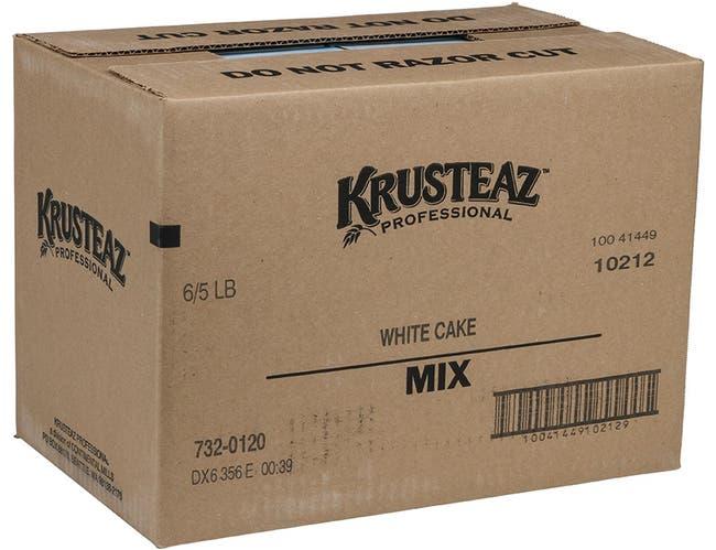 Continental Mills Krusteaz White Cake Mix, 5 Pound -- 6 per case