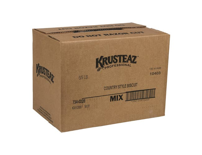 Krusteaz Professional Country Style Biscuit Mix, 5 Pound -- 6 per case.