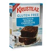 Krusteaz Gluten Free Brownie Mix, 20 Ounce -- 8 per case.