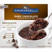 Ghirardelli Dark Chocolate Brownie Mix, 9.2 Ounce -- 6 per case