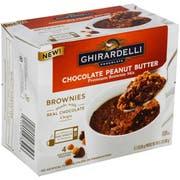 Ghirardelli Chocolate Peanut Butter Brownie Mix, 9.2 Ounce -- 6 per case