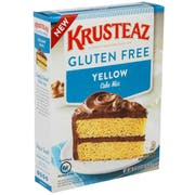 Krusteaz Gluten Free Yellow Cake Mix, 18 Ounce -- 8 per case