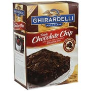 Continental Mills Ghirardelli Triple Chocolate Chip Brownie Mix, 120 Ounce -- 4 per case