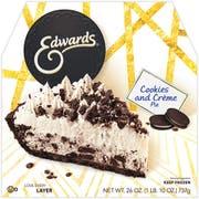 Edwards Cookies N Cream Pie, 26 Ounce -- 6 per case.
