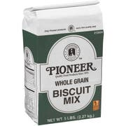 Pioneer Whole Grain Biscuit Mix, 5 Pound -- 6 per case