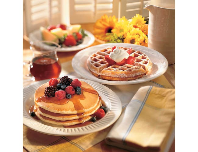 Pioneer Western Style Buttermilk Pancake and Waffle Mix, 5 Pound -- 6 per case.