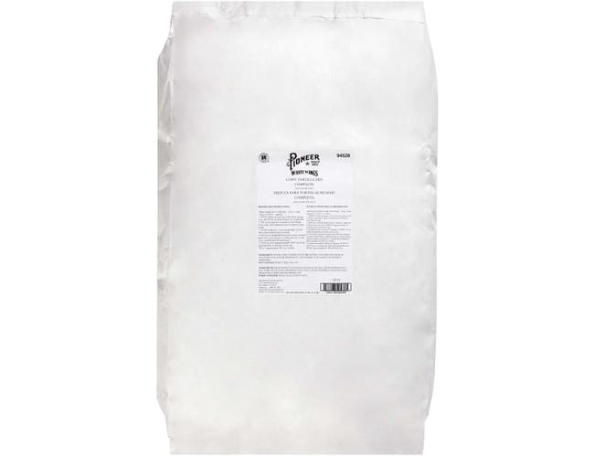 CH Guenther Pioneer White Wings Corn Tortilla Mix, 25 Pound -- 1 each.