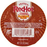 Franks Redhot Barbecue Buffalo Dipping Sauce, 1.5 Fluid Ounce Cup -- 96 per case