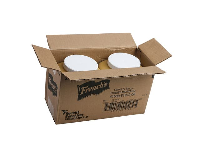 Frenchs Sweet and Tangy Honey Mustard, 105 Ounce -- 2 per case.