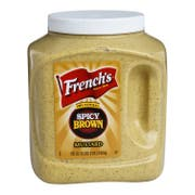 Frenchs Bold n Spicy Brown Mustard, 105 Ounce -- 4 per case.