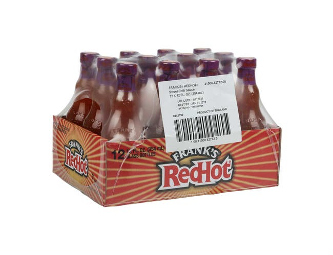 Franks Red Hot Sweet Chilli Sauce, 12 Fluid Ounce -- 12 per case.
