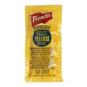 Frenchs Classic Yellow Mustard, 7 Gram Packet -- 500 per case.