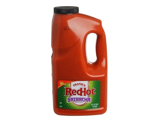 Franks RedHot Sriracha Chili Sauce, 0.5 Gallon -- 4 per case.
