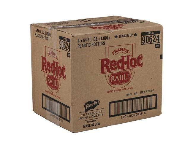 Franks RedHot Asian Sweet Ginger Sauce, 0.5 Gallon -- 4 per case.