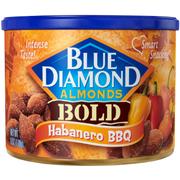 Blue Diamond Habanero BBQ Almonds, 6 Ounce -- 12 per case