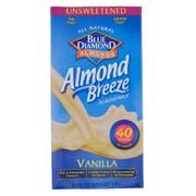 Almond Breeze Vanilla Unsweetened Almond Milk, 64 Ounce -- 8 per case.