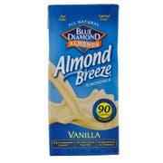 Almond Breeze Vanilla Almond Milk Beverage, 32 Ounce -- 12 per case.